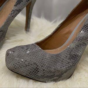 Aldo Shoes - Aldo snakeskin heels size 11